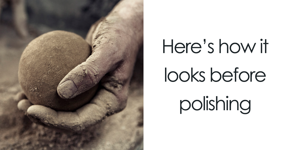 Japanese Are Polishing Dirt Balls To Perfection, And The Result Will Blow You Away
