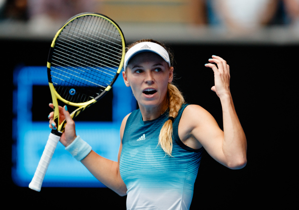 Sharapova: I'm Absolutely Underdog vs. Wozniacki