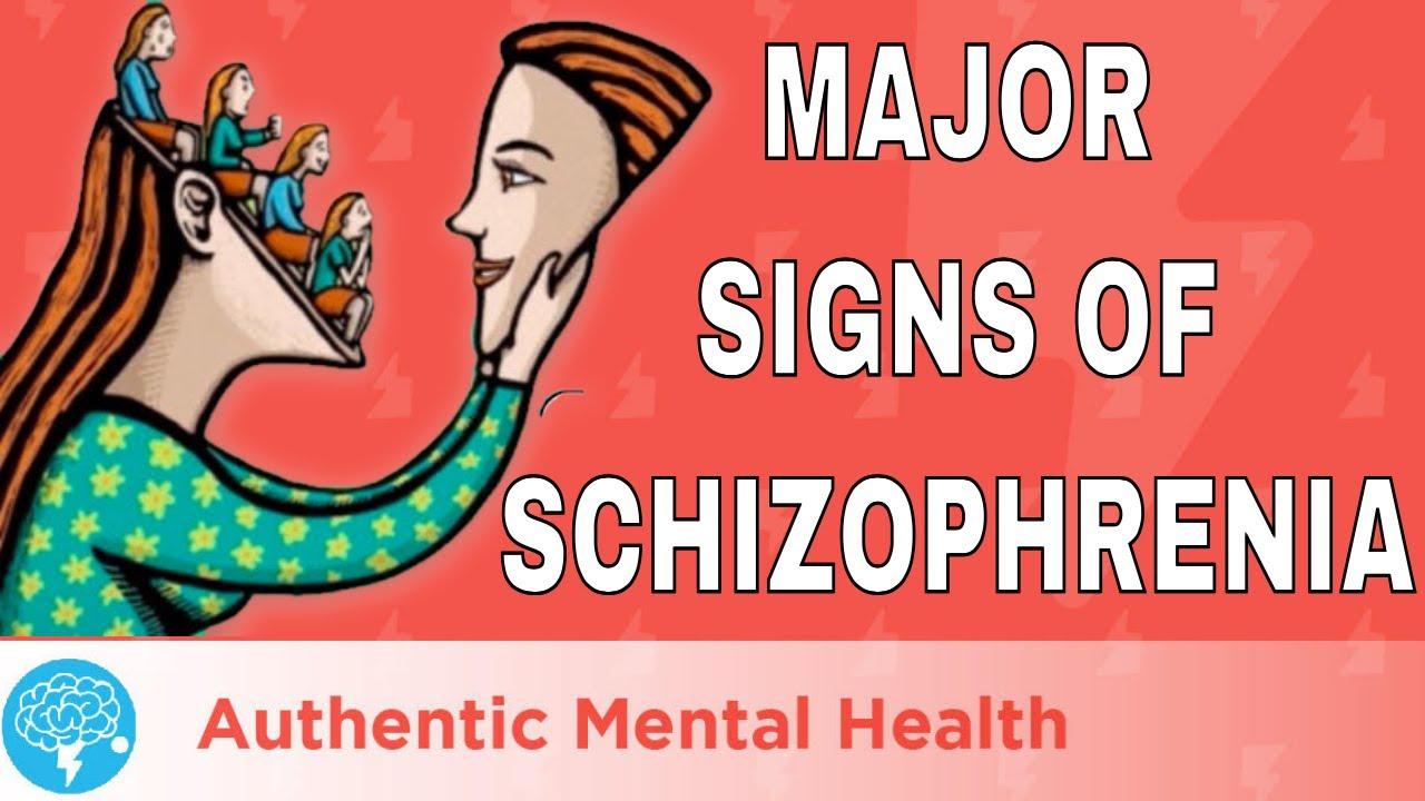 4 MAJOR Signs Of Schizophrenia