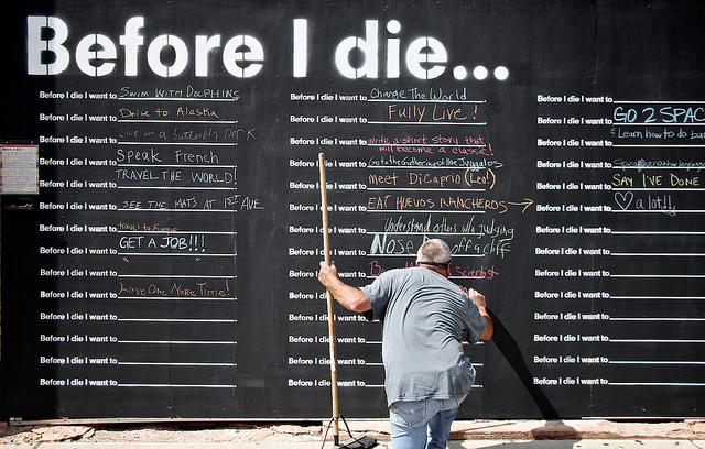 Why facing death makes us want to live