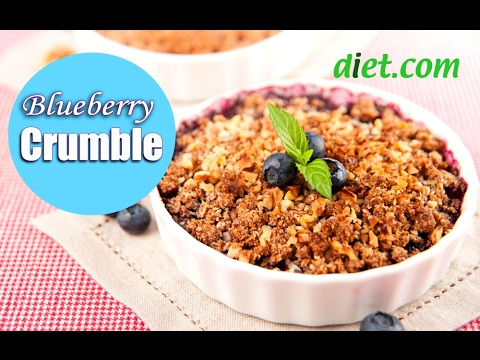 Quick & Easy Blueberry Crumble – Dietitian's Choice Recipe