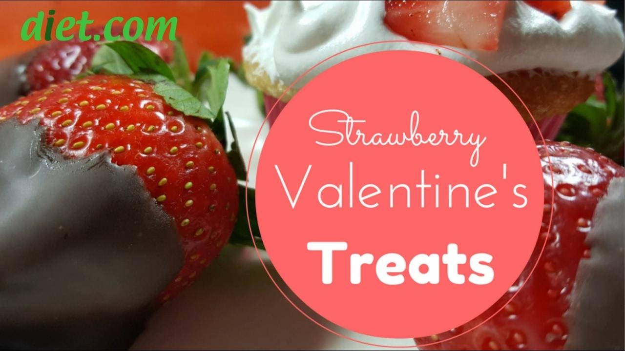 Valentine's Day Strawberry Medley