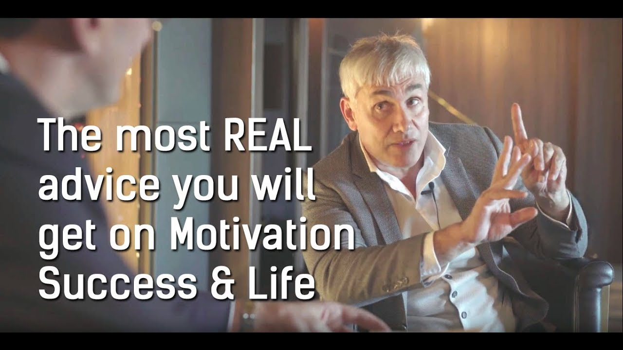 The most REAL advice you will get on Motivation, Success & Life