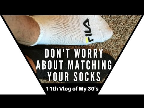 Don't Worry About Matching Your Socks – Don't lose your day