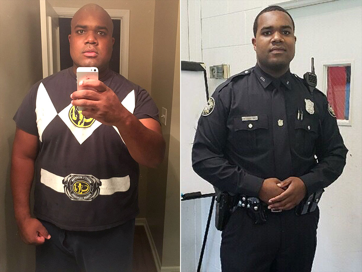 Georgia Man Lost 100 Lbs. to Become a Police Officer and Provide For His Son: 'Find Your Why'