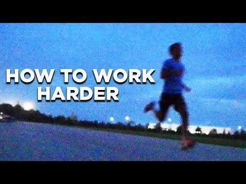 HOW TO WORK HARDER TO ACHIEVE YOUR GOALS |Motivation