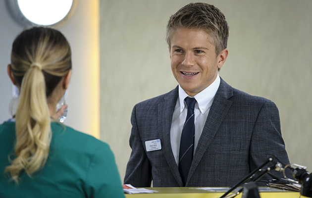 George Rainsford: 'I'm working hard to get back the sweet, caring side of Ethan Hardy'