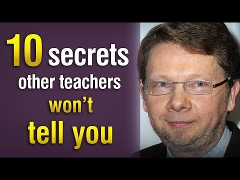 "10 secrets about ""life challenges"" that other teachers won't tell you!!"