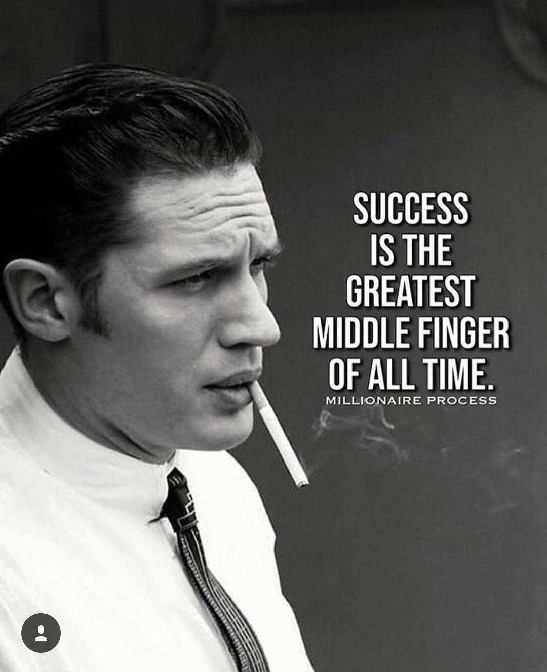 The Greatest Middle Finger