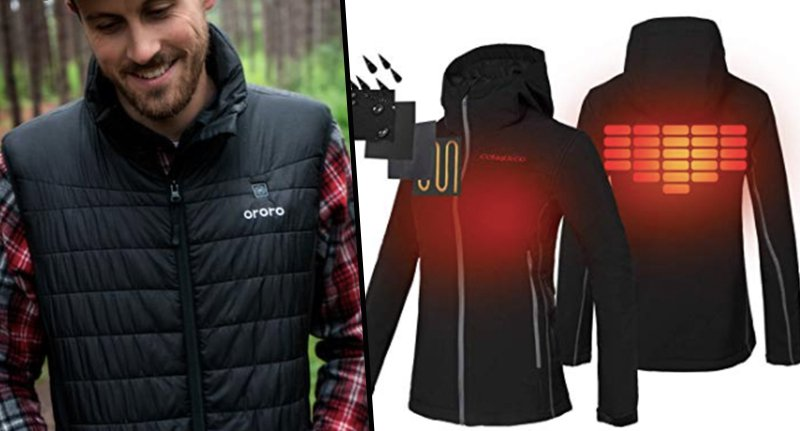 You Can Now Buy Heated Clothing So You'll Never Be Cold Again