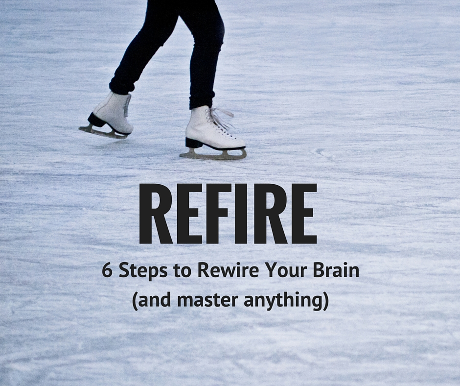 REFIRE: 6 steps to rewire your brain (and master anything).