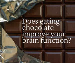 Does eating chocolate improve your brain function?