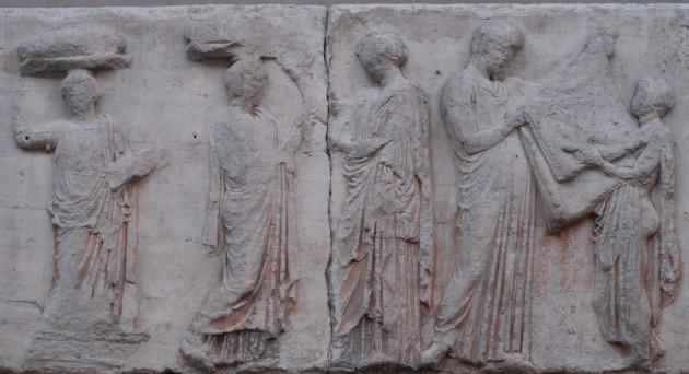 Two Panathenaic Peploi: A Robe and a Tapestry