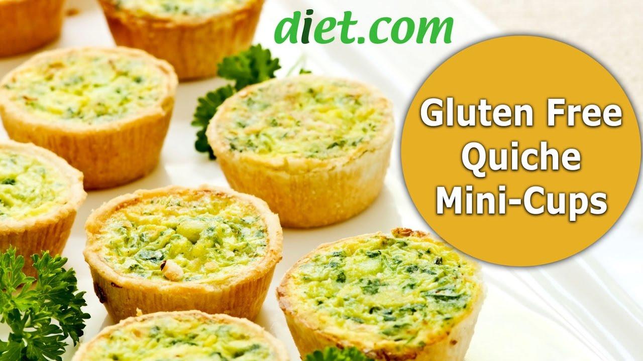 Gluten Free Quiche Mini Cups Recipe with Diet.com