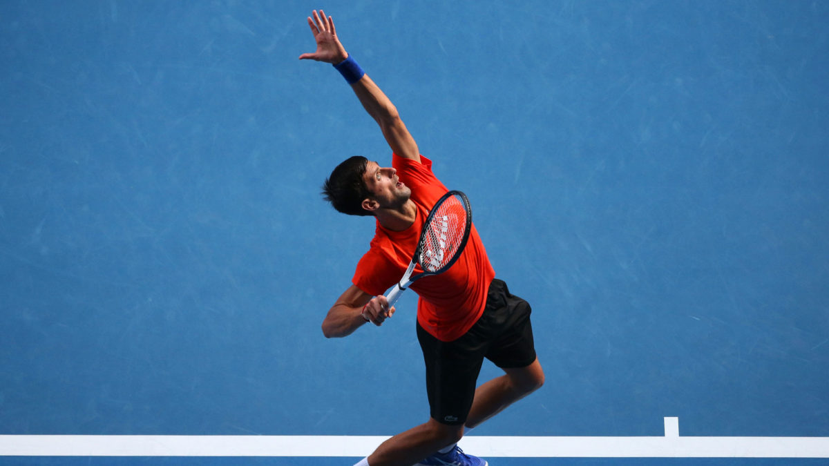 Insatiable Djokovic sets sights on Federer's major record