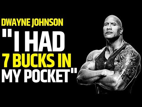 "Looking for motivation? Watch Dwayne ""The Rock"" Johnsons extremely moving and motivational speech. Proof of hard work pays off!"