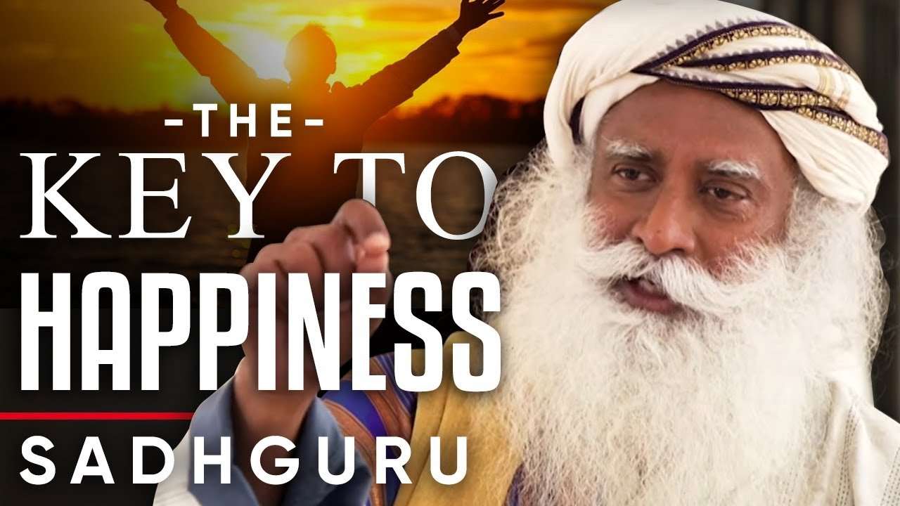 WHY THE KEY TO HAPPINESS IS WITHIN YOU – Sadhguru | London Real