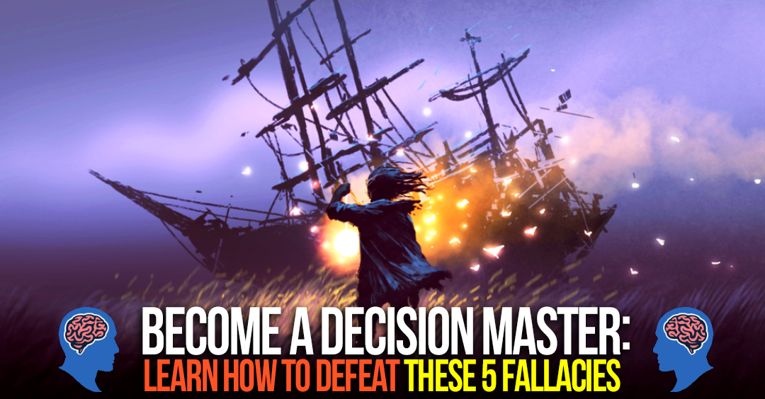 Become A Decision Master: Learning to Escape a Sunk Cost Fallacy