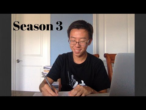 Study With Me // Work Hard With Me 2019 Season 3 Episode 10 (Family Home Background Noise)