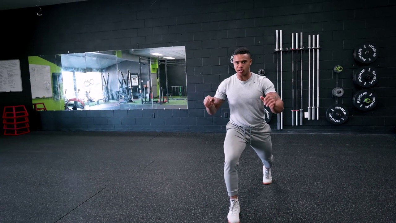 How To Do Jumping Lunges Infinite Fitness