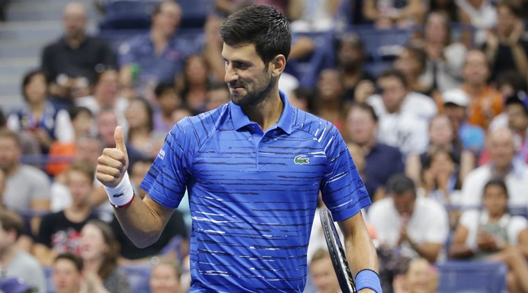Watch: Novak Djokovic argues with spectator during practice, thanks him later for motivation