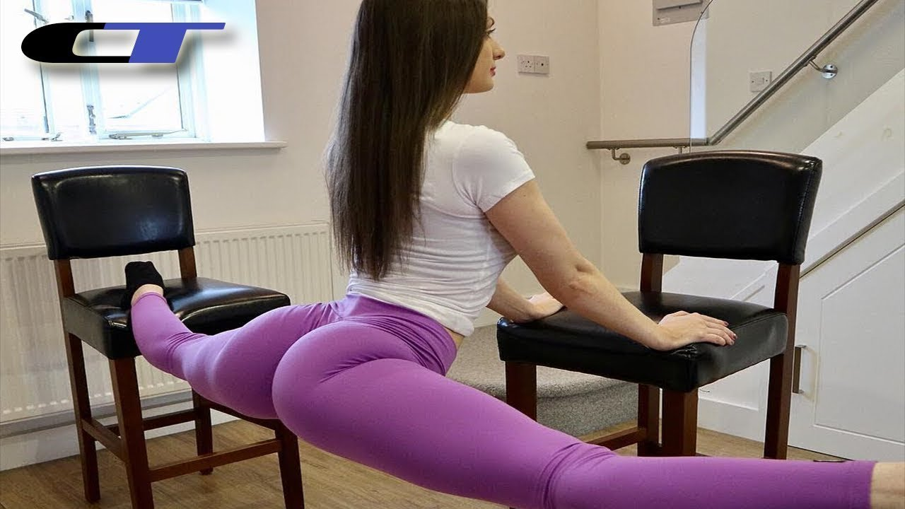 #fitnessmotivation JAW DROPPING BENDY FITNESS GIRL ★ FLEXIBILITY TRAINING Leah