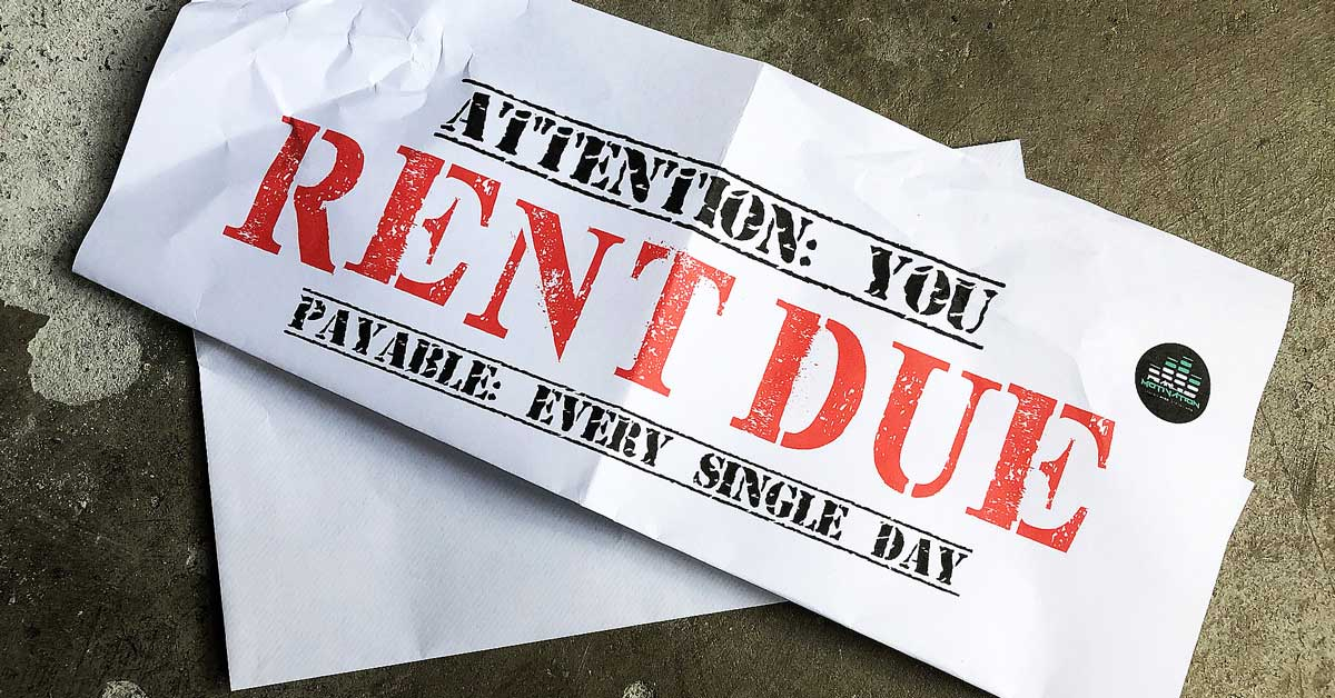 Success Is Never Owned It's Rented And The Rent Is Due Everyday