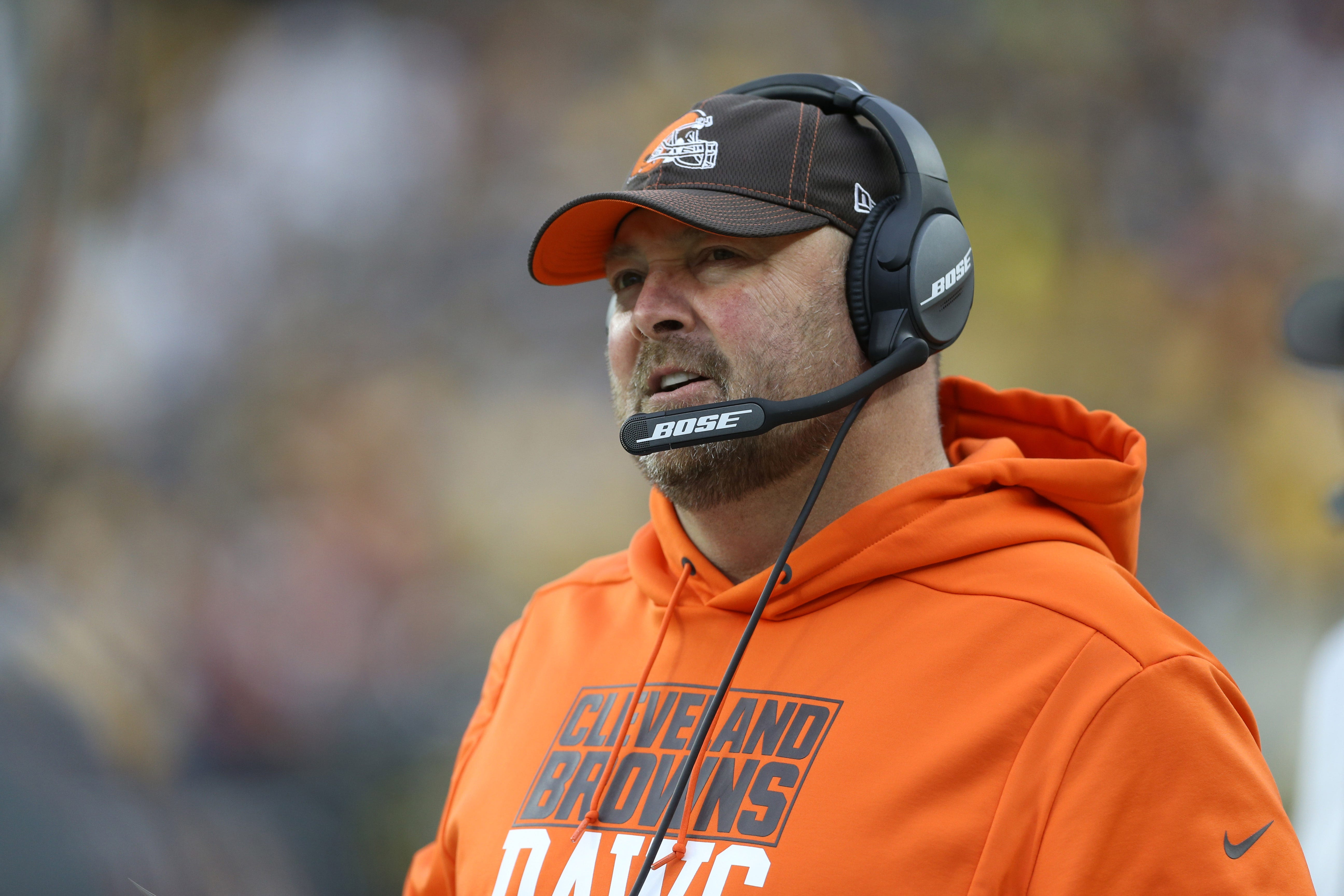 Browns coach Freddie Kitchens regrets giving Steelers extra 'motivation'