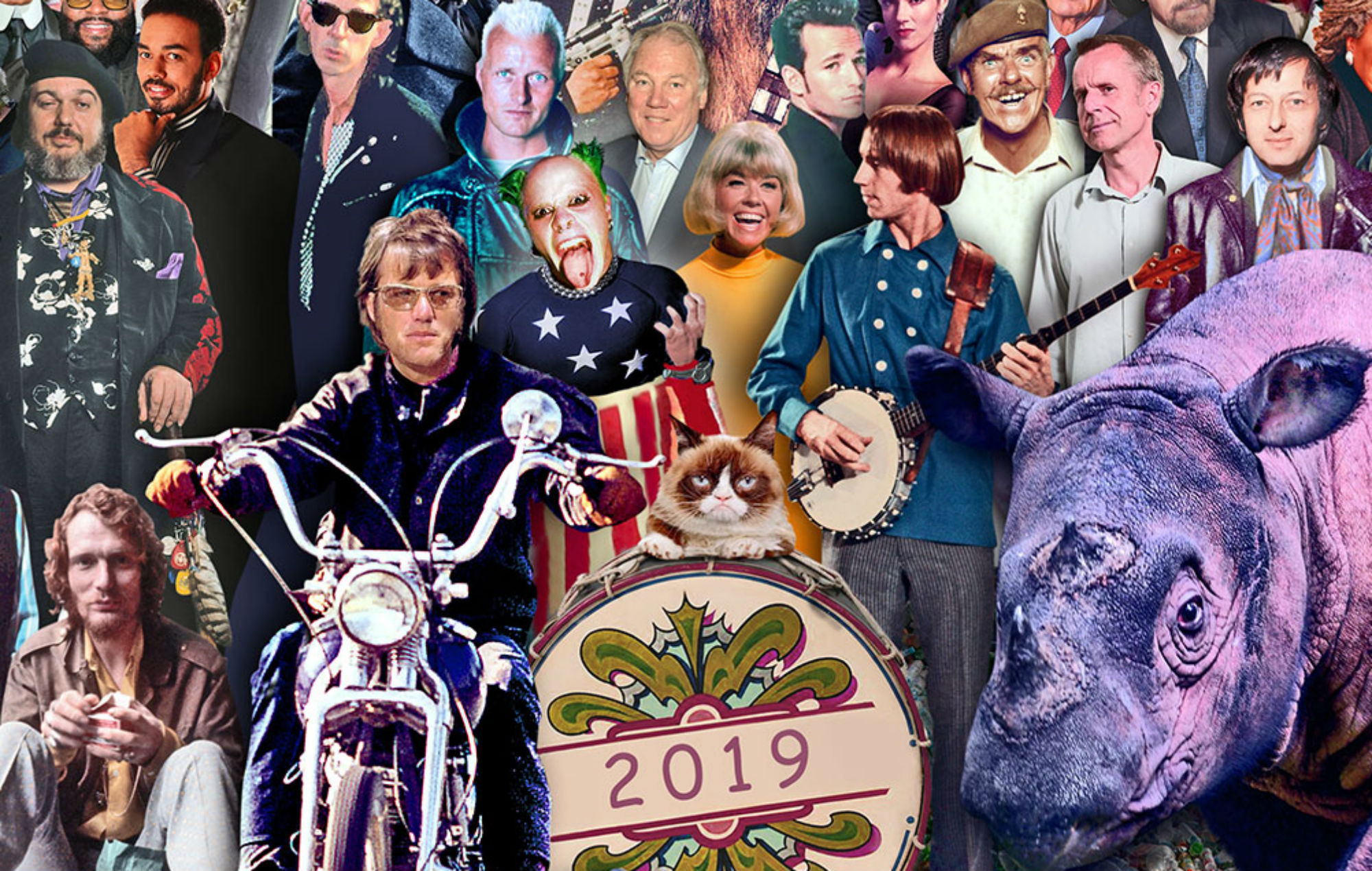 Keith Flint, Juice WRLD and more appear in 2019 'Sgt. Pepper's' cover tribute