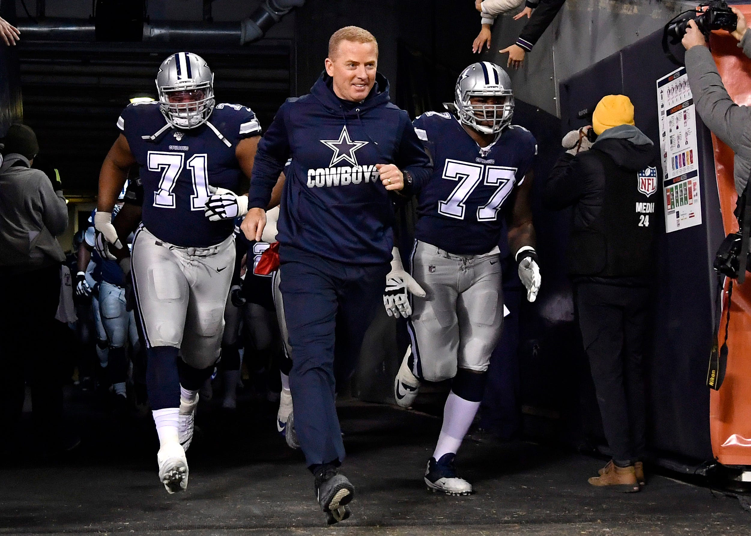 'A great visual': Jason Garrett shows Cowboys highlight reel as motivation amid slump