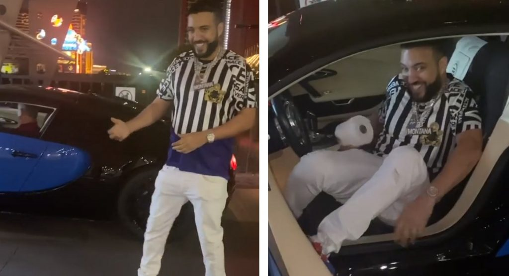 Rapper French Montana Gifts Himself A 'Buggatti' Veyron