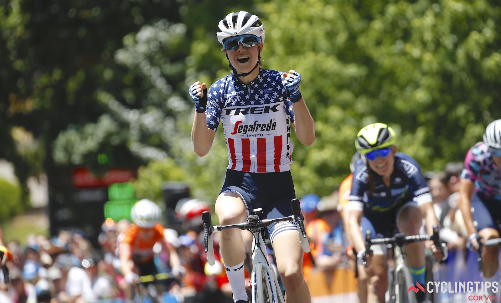 How Ruth Winder dethroned Amanda Spratt to lead the Women's Tour Down Under