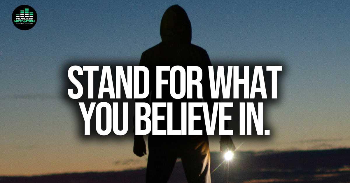 Stand For Something – Motivational Video