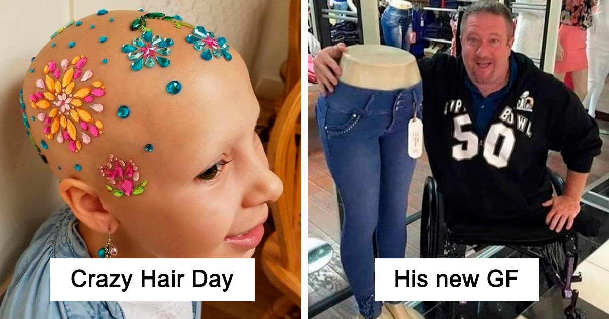 30 People With Illnesses And Disabilities Overshining Their Hardships With Humor