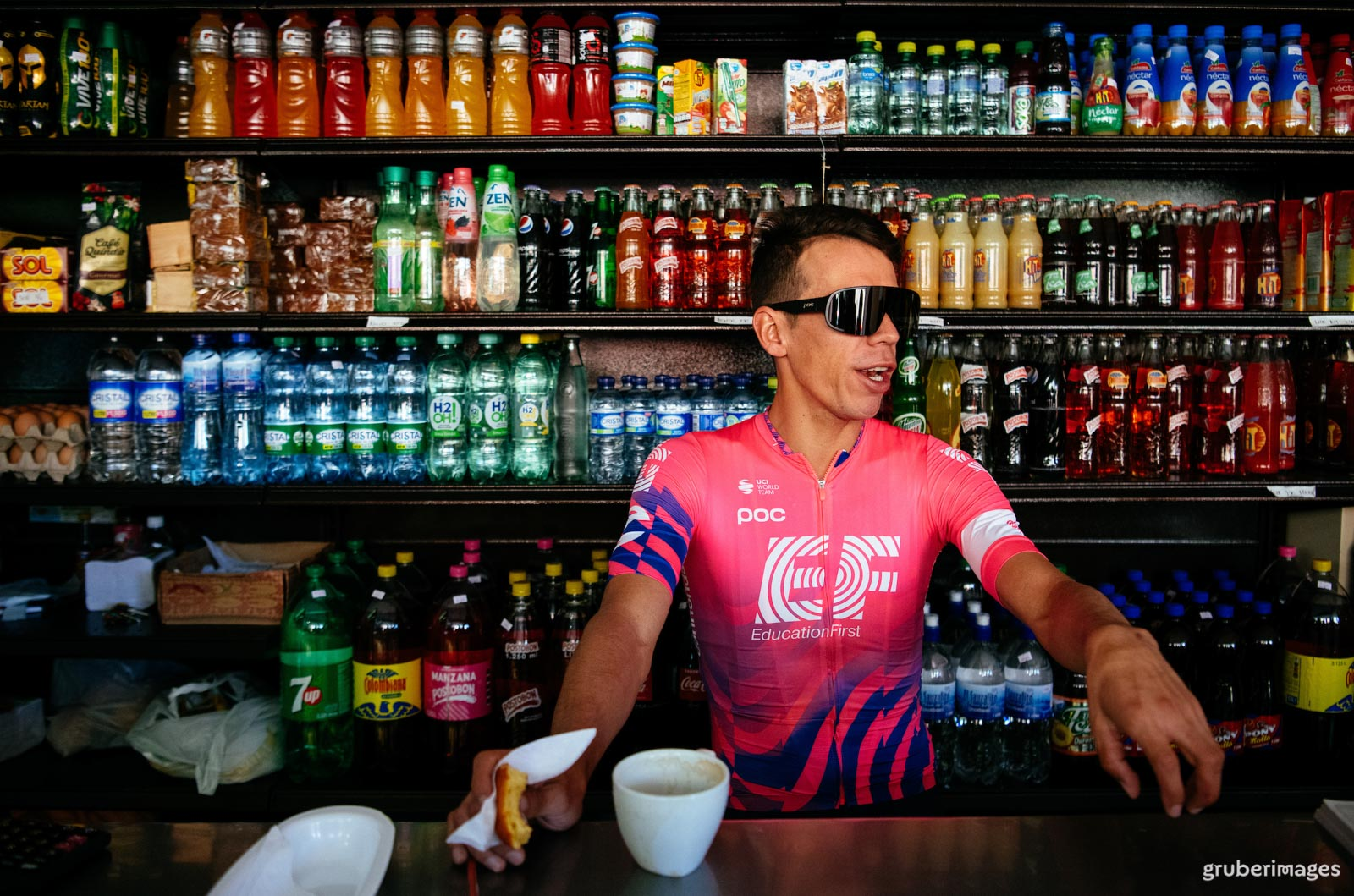Rigoberto Urán is a businessman with a racing plan