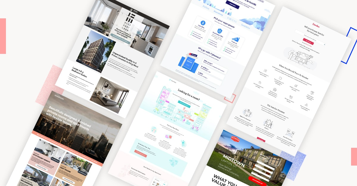 8 Real Estate Landing Page Examples & Why They Convert