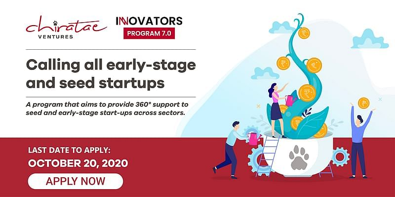 The seventh edition of Chiratae Ventures Innovators Program is the perfect platform for early-stage startups to grow