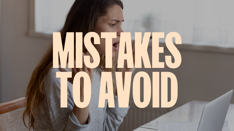 Five Major Mistakes To Avoid When Starting Out as a Solopreneur