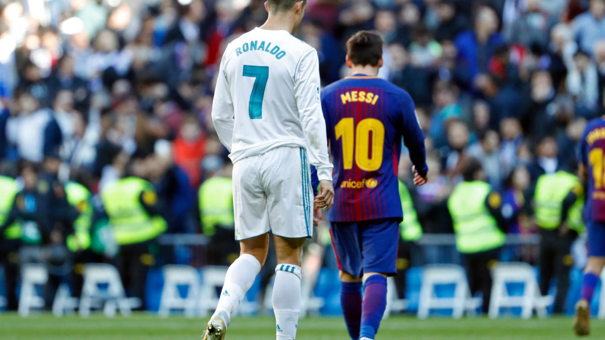 Messi vs Ronaldo will be known as the greatest individual sports rivalry of all time
