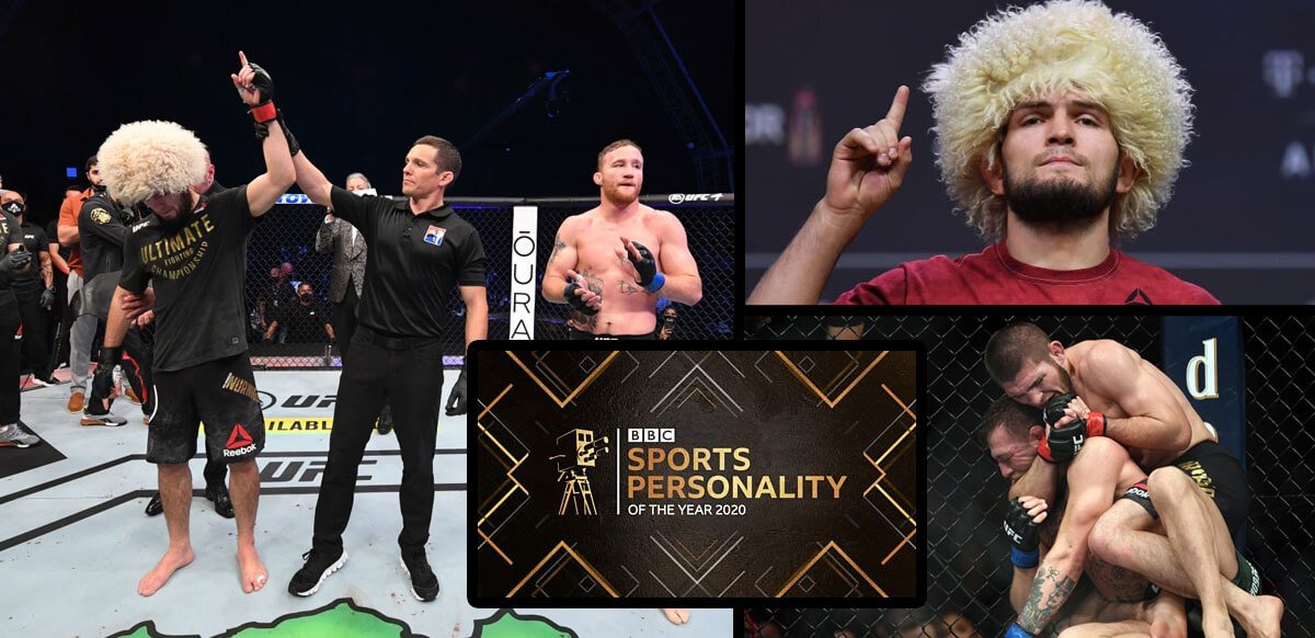 Khabib Wins the BBC Sports Star Award This Year
