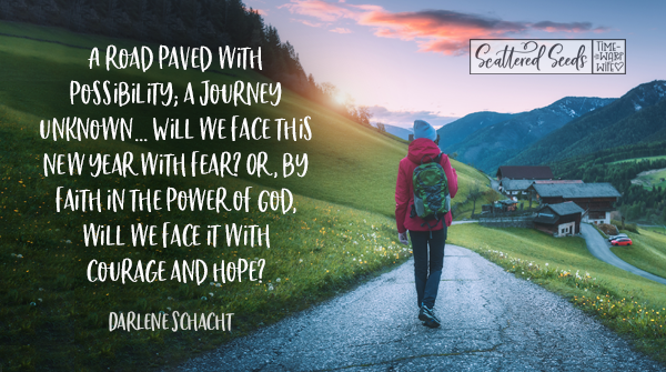 Daily Devotion – Facing The New Year With Courage and Hope
