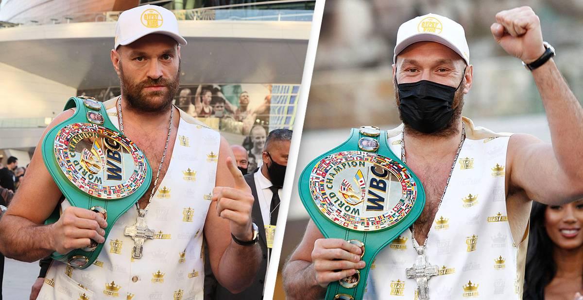 Tyson Fury Shares Heartfelt Motivational Message Ahead Of Deontay Wilder Fight